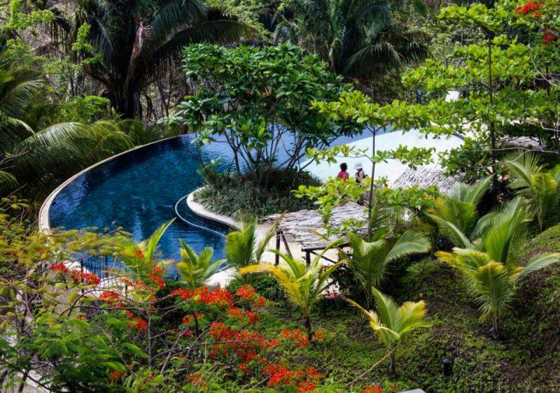 Blue Spirit Costa Rica pool